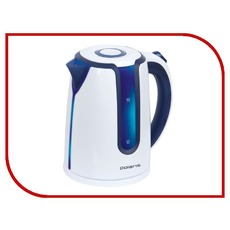 купить чайник Polaris PWK1754CL White blue